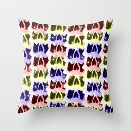 Stack Them Up! Throw Pillow