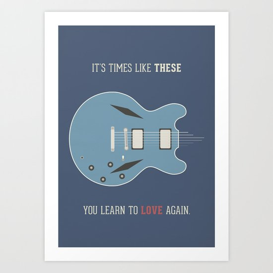Like These Times Art Print