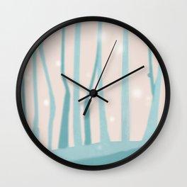 Green woods Wall Clock