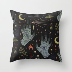 A Curse Upon You! Throw Pillow