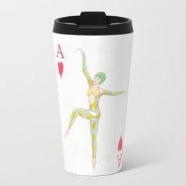 Ace of Hearts Travel Mug