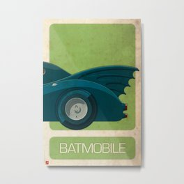 Batmobile 89 part III of III Metal Print