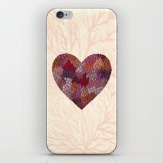 Pink Heart iPhone & iPod Skin