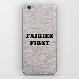Fairies first iPhone Skin