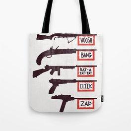A Brief History of Non-Violence Tote Bag