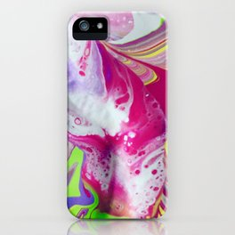 Let it flow iPhone Case