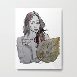 Fiona Apple Metal Print