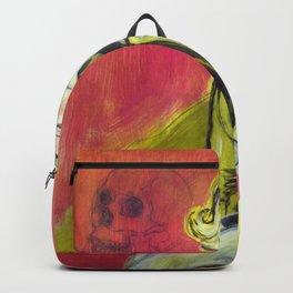 Blonde & Pink Backpack