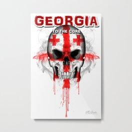To The Core Collection: Georgia Metal Print