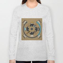 American Native Pattern No. 114 Long Sleeve T-shirt