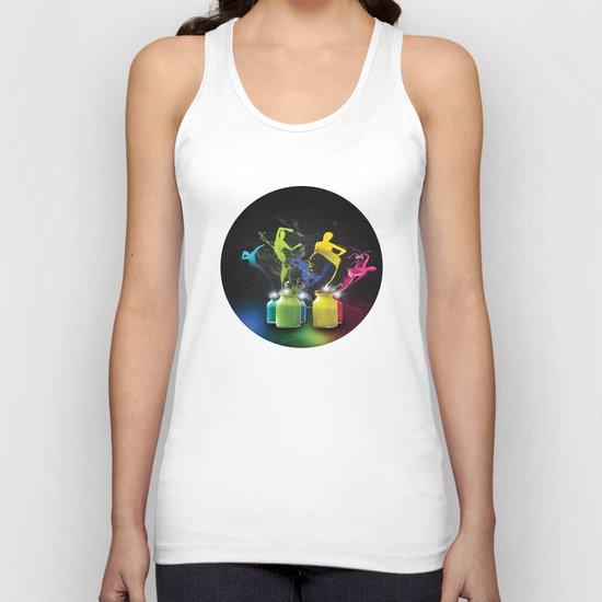 Paint Dancers Unisex Tank Top