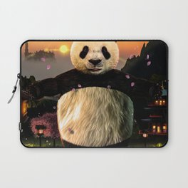 Panda Hug Laptop Sleeve