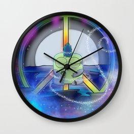 Wondrous & Whimzical Places: Jolt Finds Peace Wall Clock