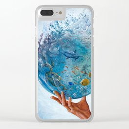 A Drop of the Ocean Clear iPhone Case