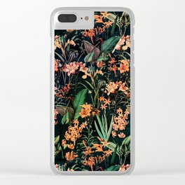 Exotic Garden Clear iPhone Case