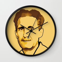 George Orwell Wall Clock