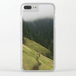 Starvation Creek Meadows Clear iPhone Case