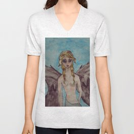 Angel of the truth Unisex V-Neck