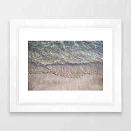 Water Photography Shoreline | Ocean Wave | Wave | Sea Framed Art Print