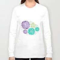 succulents Long Sleeve T-shirts featuring The Succulents by haidishabrina