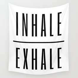 Inhale. Exhale. Wall Tapestry