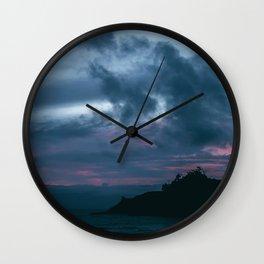 Kiwanda Blue Hour Wall Clock