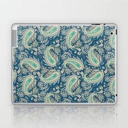 Meredith Paisley - Cerulean Blue Laptop & iPad Skin