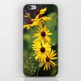 Black Eyed Beauties iPhone Skin