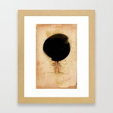 The Wee Obliteration of The N-Gon Framed Art Print