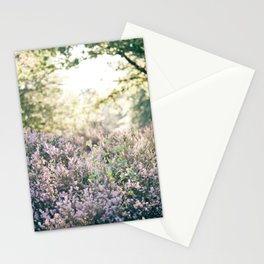 morning heather Stationery Cards
