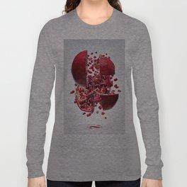 Flying Pomegranate Long Sleeve T-shirt