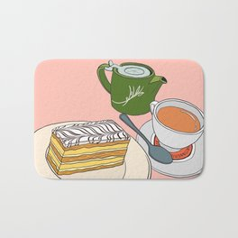 Aftenoon Cake Treat Bath Mat