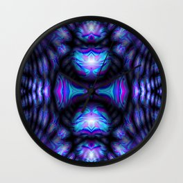 Scarabs in pastels... Wall Clock