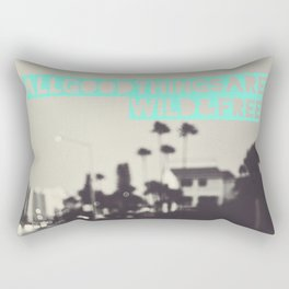 All Good Things Rectangular Pillow
