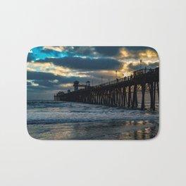 South Side Oceanside Pier ~10-2015 Bath Mat