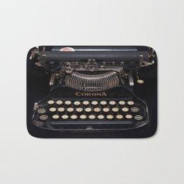 Corona Typewriter Bath Mat