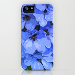 Lupins are Blue iPhone Case
