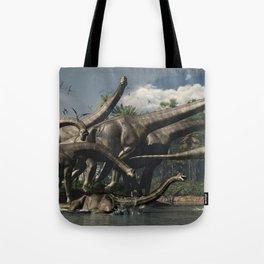 Brachiosaurios Tote Bag