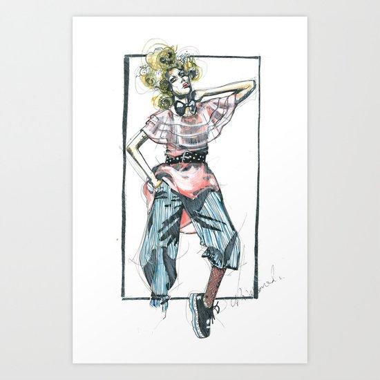 Bow Tie Art Print