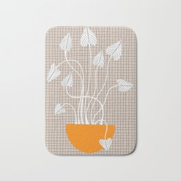 Potted Plant Bath Mat