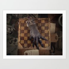 The Monkey's Paw Art Print