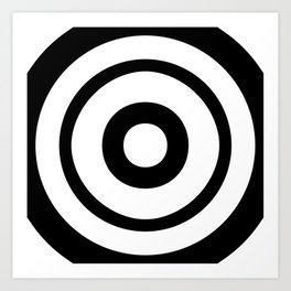 Target (Zuboshi) Art Print