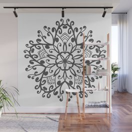 A Beautiful Star with a Pattern style Fashion Modern Design Print! Wall Mural