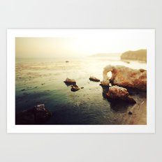 Pirates Cove Art Print