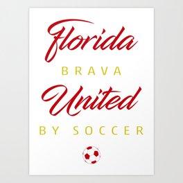Florida Brava Art Print