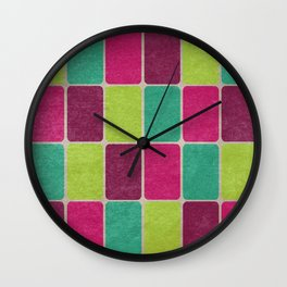 Soda Pop Scales Wall Clock