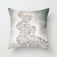 CAMINOALAMUERTE Throw Pillow