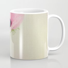 Fine Art Pink Pastel Flower Photography, Nature Coffee Mug