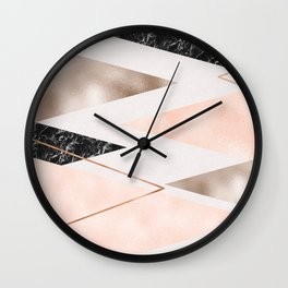 Splices and triangles Wall Clock