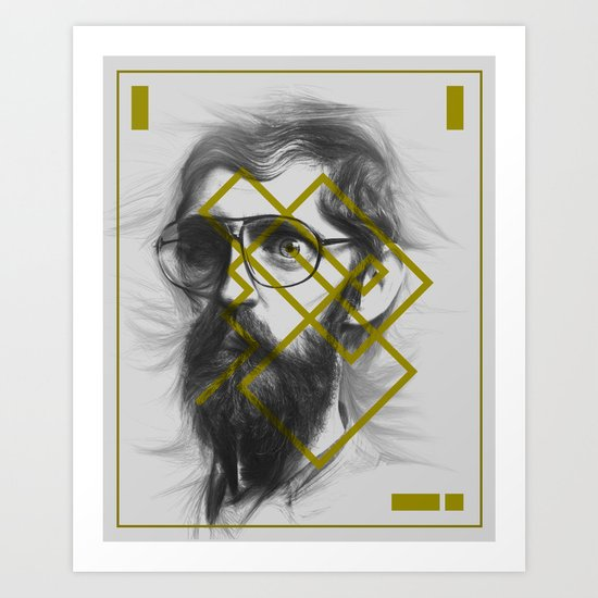 Man From Earth Art Print